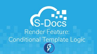 The S-Docs Render Feature