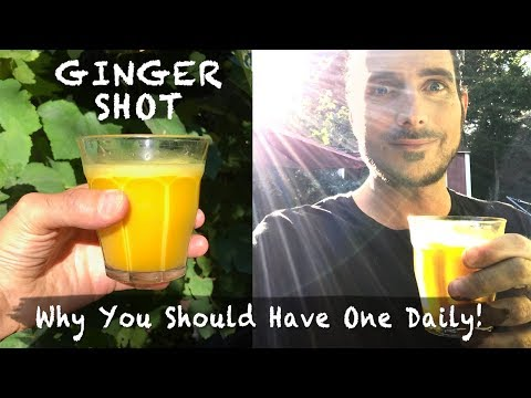 Ginger Shot: Why You Should Have One Daily!