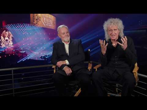 BOHEMIAN RHAPSODY Brian May & Roger Taylor Behind The Scenes Interview