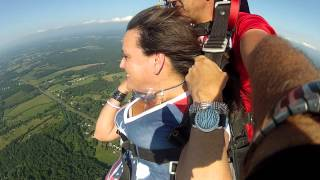 """Airborne"" Goes Skydiving for 50th Birthday - 29 July 2012"
