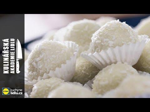 Nepečené kokosové kuličky - Roman Paulus - Kulinářská Akademie Lidlu