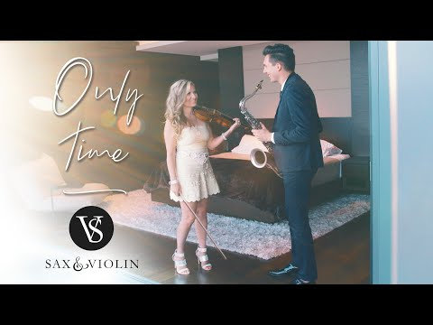 "Enya's ""Only Time"" - SaxAndViolin (Instrumental) Eli Bennett & Rosemary Siemens (2019)"