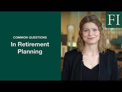 Common Retirement Questions | Fisher Investments [2019]