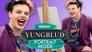 YUNGBLUD's Advice For Broken Hearts | Portrait Mode | PopBuzz Meets