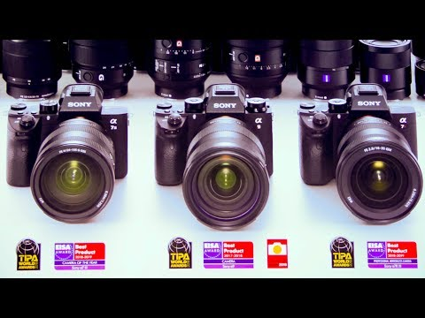 Sony flexes its muscles at Photokina 2018 - YouTube