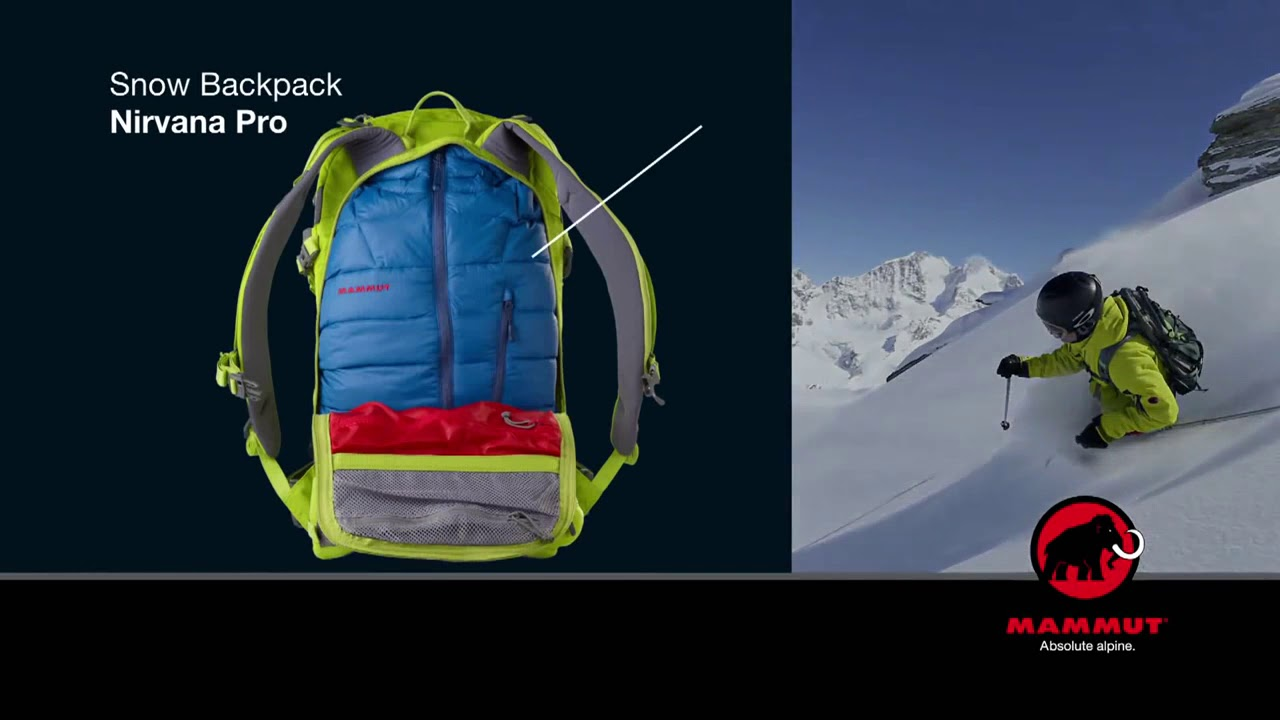 Mammut Backpacks Nirvana Pro - YouTube 47db2c5f52