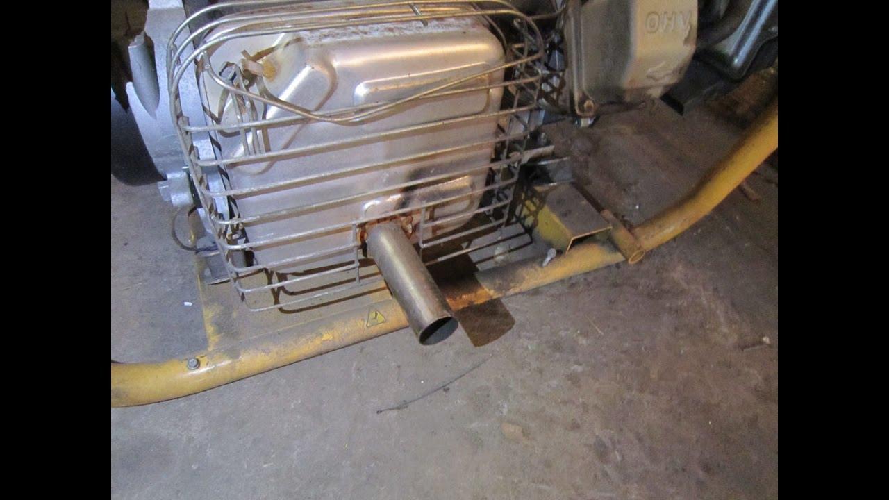 Глушитель для генераторов своими руками фото 435