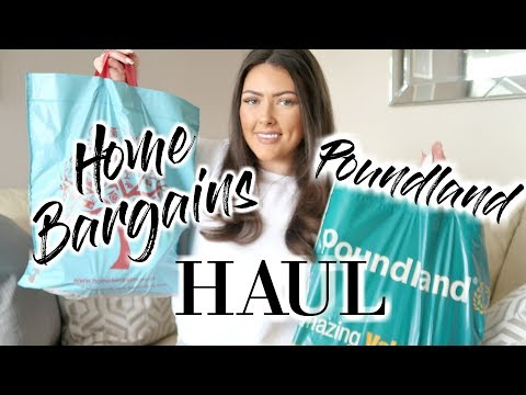 POUNDLAND AND HOME BARGAINS HAUL | CLEANING PRODUCTS HAUL