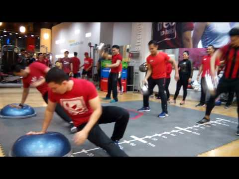 Personal Trainers Performance at 9th Anniversary of Fitness First Pacific Place Jakarta