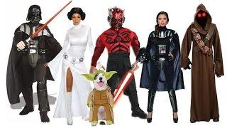 cosplay star wars costumes princess leia slave darth vader maul luke skywalker yoda c3po jedi