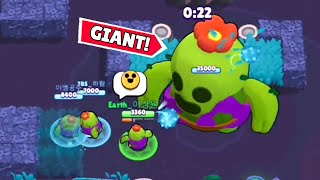 GIANT SPIKE vs 3 SPIKE ! Brawl Stars Funny Moments & Fails #379