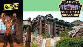 May The Fourth FAIL & Checking Out The Brand New Wilderness Lodge Deluxe Suite Rooms