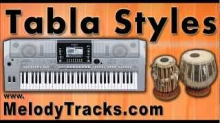 Tabla Styles YAMAHA Keyboards Mix Songs Set B - indian Kit