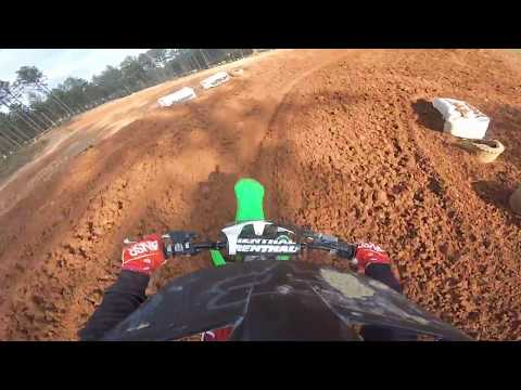 2018 kx 250f practice at durhamtown pro mx |11/18/17
