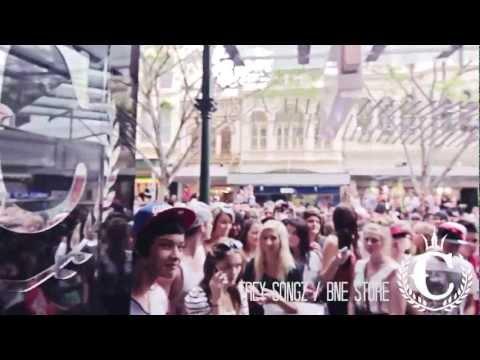 Trey Songz at Culture Kings.... Australia's Best Streewear Store