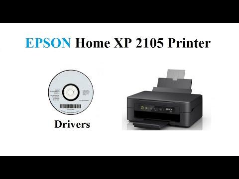 Epson Home Xp 2105 Driver Youtube