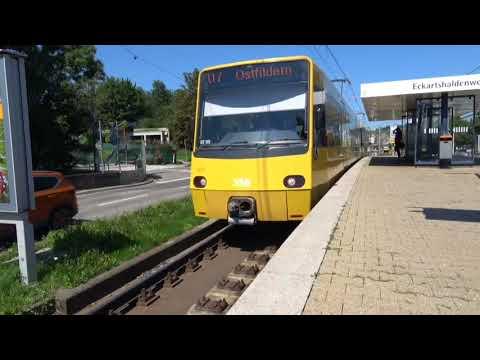 Stuttgart Stadtbahn, Stuttgart, Baden-Württemberg, Germany - 7th August, 2017