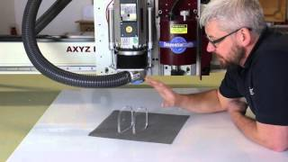 How to avoid a poor finish when cutting acrylic on a CNC Router