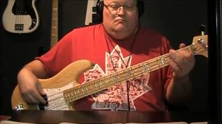 Bill Ocean Caribbean Queen (No More Love On The Run) Bass Cover with Notes & Tablature