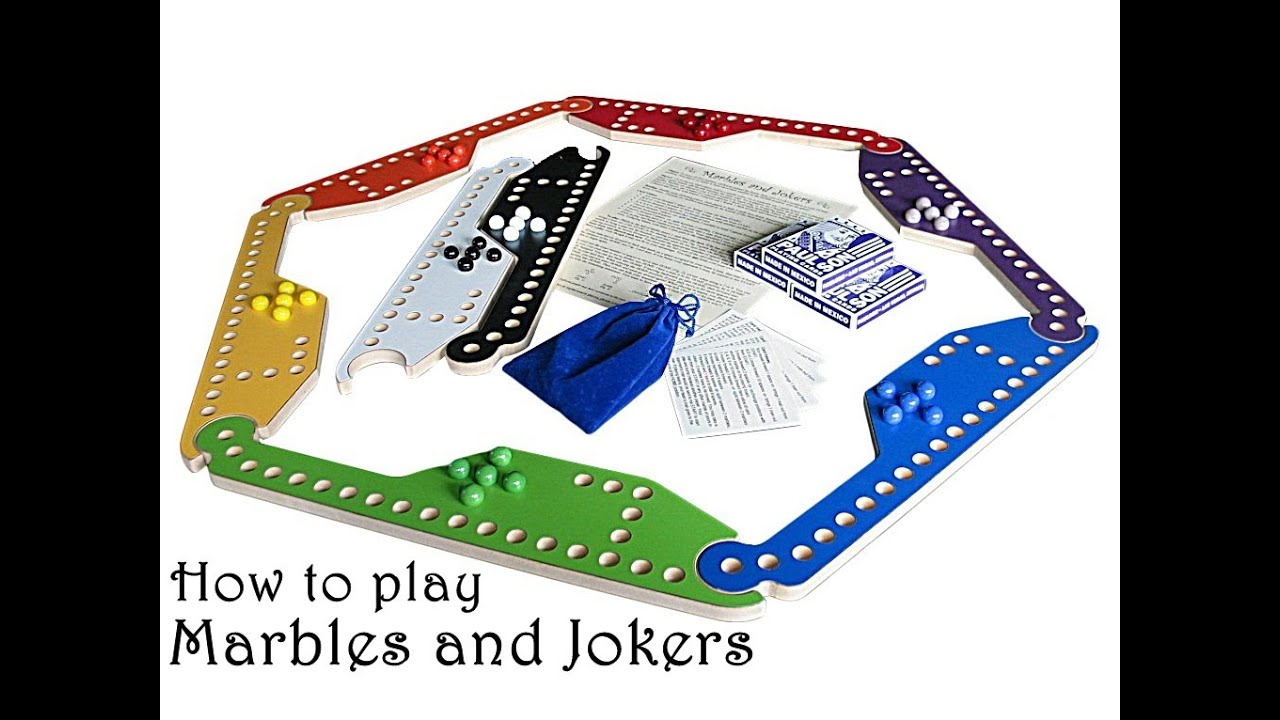 How To Play Marbles And Jokers Game By Wizard Woodworks
