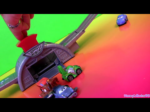 Cars  Launcher Playset