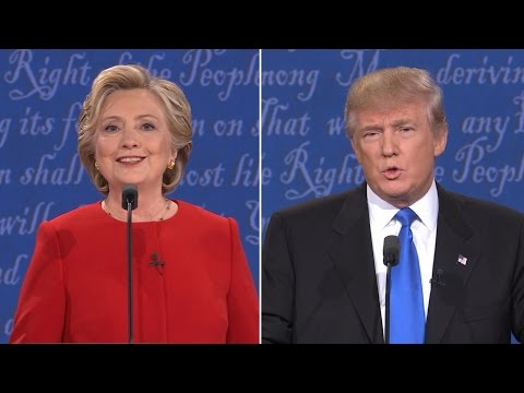 Presidential Debate |  Clinton, Trump Job Creation Plans