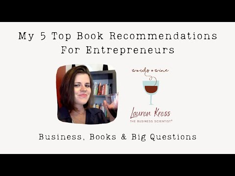 Best business books for entrepreneurs (2018: Words & Wine Ep 1)