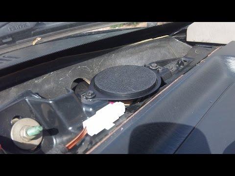 How To Change Tweeters On 99-04 Jeep Grand Cherokee
