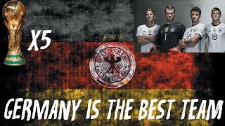 Why Germany is the Best Soccer Team...