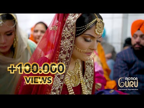 Punjabi Sikh Traditional Wedding| Marriage | Hannover | Germany | Highlight | Dilprit Weds Manjit