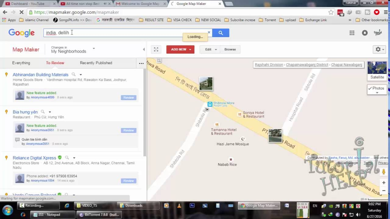 How to add place in google map 2016 youtube how to add place in google map 2016 ccuart Images