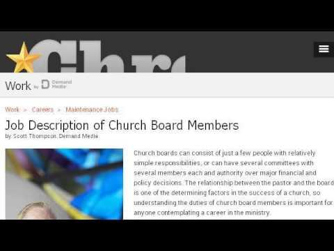 Job Description Of A Board Of Trustees Treasurer - YouTube - treasurer job description