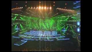 Pokaz laserowy ESKA MUSIC AWARDS Łódź 2008 MEDIAM EVENT