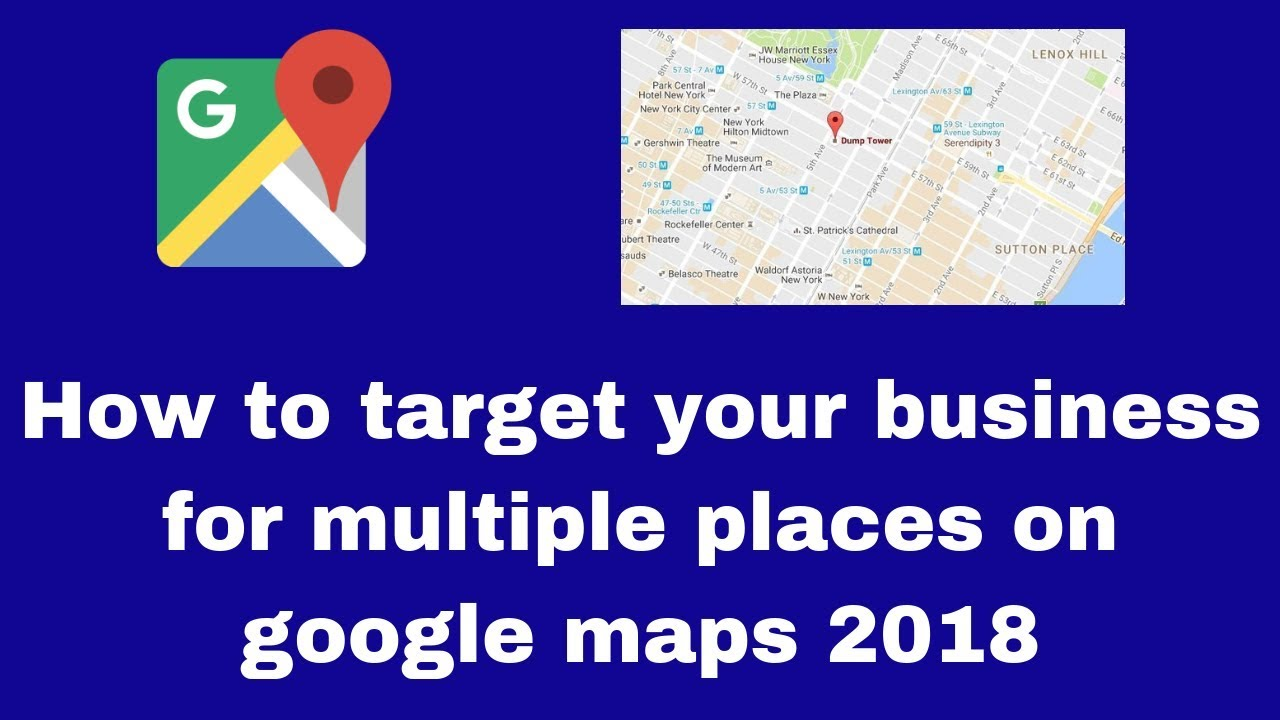 How to target your business for multiple places on google ... Map Multiple Places on natural maps, no maps, several maps, specialized maps, brown maps, emotional maps,