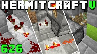 Hermitcraft V 626 Three Redstone Contraptions