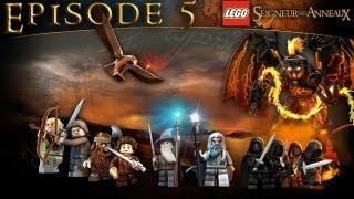 Épisode 5 - Amon Hen [Série] Lego : Le Seigneur des Anneaux