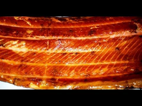 лосось горячего копчения