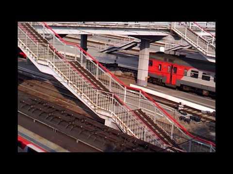 Видео. Железнодорожный вокзал Новосибирск- Главный.