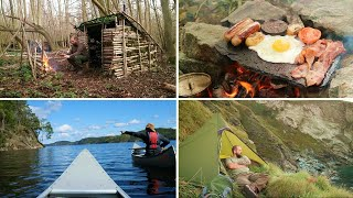 Sunsets & Campfire Food - A year of Bushcraft Camping