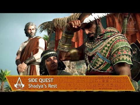 Assassin's Creed Origins - Side Quest - Shadya's Rest