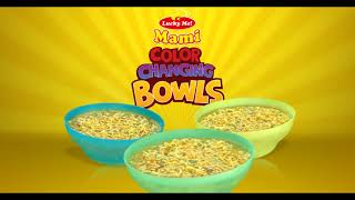 Happy almusal with Lucky Me! Color Changing Bowls! It's FREE when y...