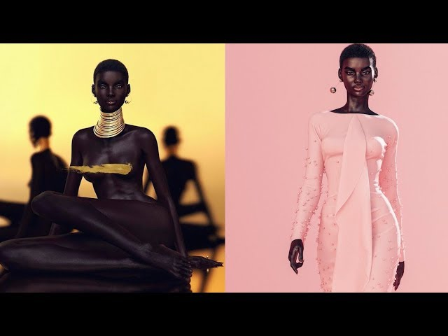Virtual Supermodel Stars in a Real Fashion Photoshoot: The Making of Shudu's First-Ever Shoot   WWD