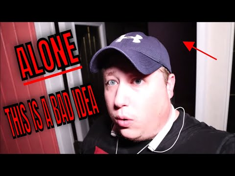 "(30 MIN ALONE CHALLENGE) 3AM ROB ALONE AT ""THE OCTAGON HOUSE"" ....TERRIFYING******"