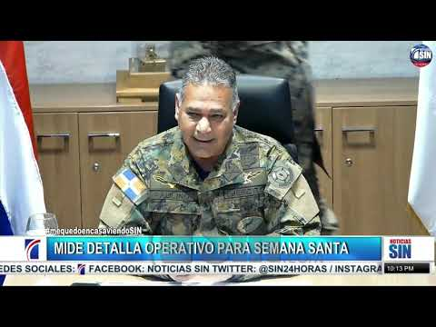 VÍDEO: Serán detenidos los que traten salir de municipios, dijo Ministro Defensa.