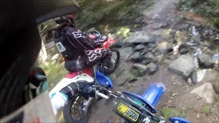 Watch in 1080 HD. Discovering some new tracks on a wr450 and a bit ...