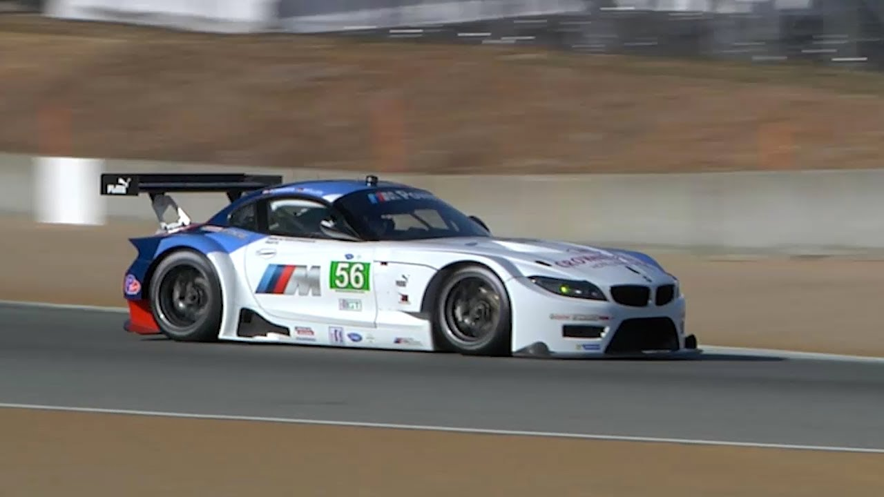 Pre Race Carpr0n Alms Bmw Z4 Gte Shakedown Youtube