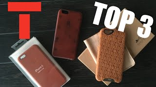TOP 3 Leather Cases for iPhone 6/6S