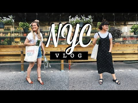 EXPLORING CHELSEA MARKET + CENTRAL PARK | NYC Vlog | Sisters and the City