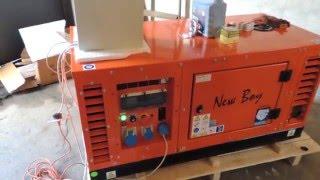 видео Схемы подключения резервного дизель-генератора