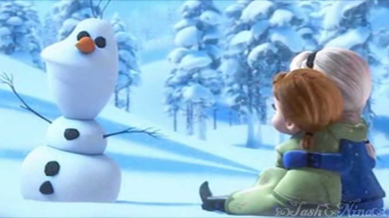 frozen elsa of course i want to build a snowman youtube